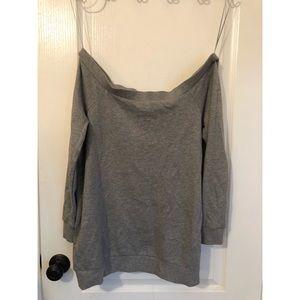 Motherhood maternity gray sweater